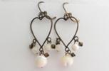 boucle d`oreille polignac boudoir amélie création bijoux collection précieuses