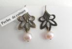 boucle d`oreille pompadour boudoir amélie création bijoux collection précieuses